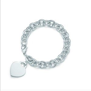 Tiffany & Co classic heart bracelet